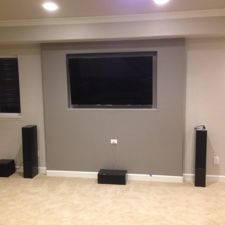 Recessed TV Wall