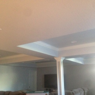 Drop ceilings and boxed columns